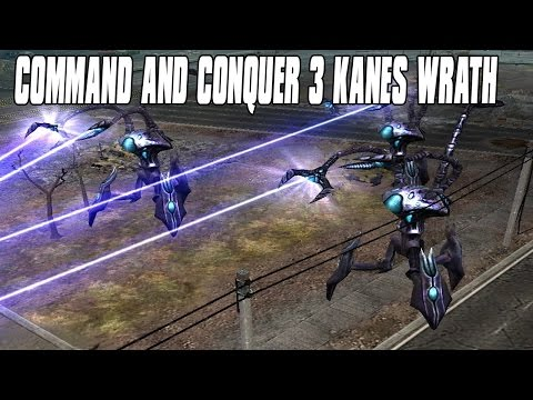 Command and Conquer 3 Kanes Wrath - Scrin War 4 Player FFA Multiplayer Gameplay