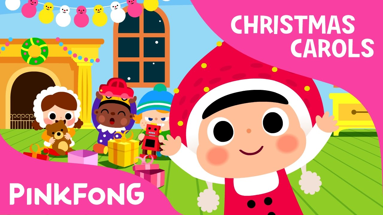 christmas every day christmas carols pinkfong songs for children youtube