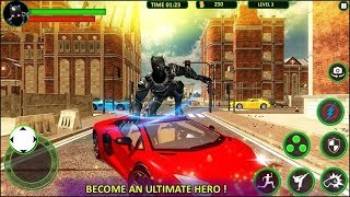 Impossible Fighting Hero Panther SuperHero Street Part-2 | New Android Game | By Game Crazy