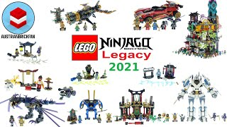 All Lego Ninjago Legacy Sets 2021 - Lego Speed Build Review