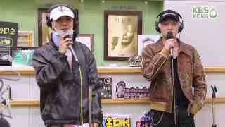 BIGBANG IF YOU COVER BY WINNER KBS HONGKI KISS RADIO