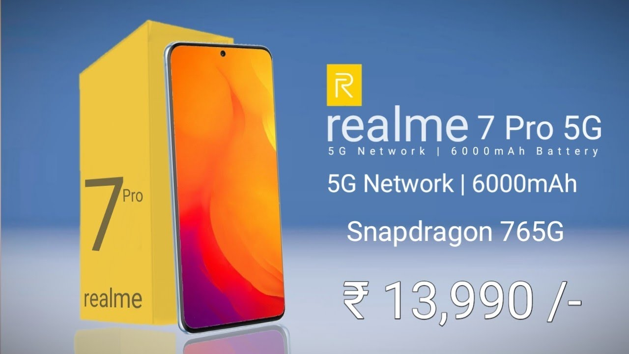 Realme 7 Pro 5G - India Price, Specs, Release Date, Everything You Need to Know