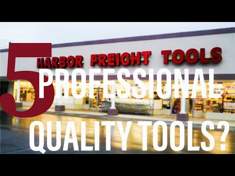 5 Harbor Freight Tools Professionals Could and SHOULD Be Using