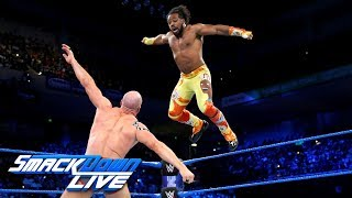 Xavier Woods vs. Cesaro: SmackDown LIVE, May 8, 2018