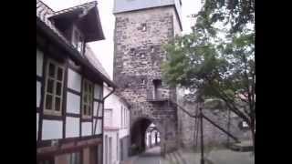 Spaziergang zum Kehrwiederturm in Hildesheim