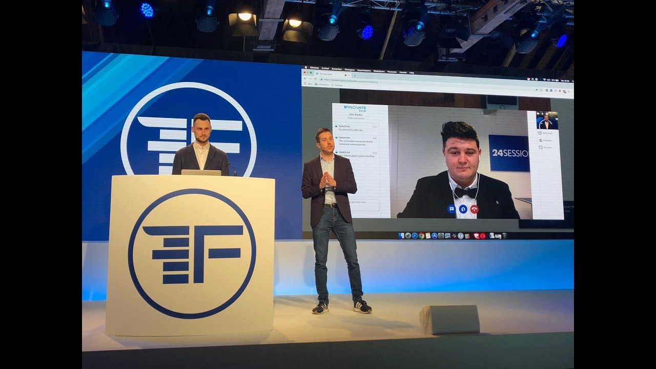 Download Video Banking Live Demo 24sessions | Finovate Europe 2019