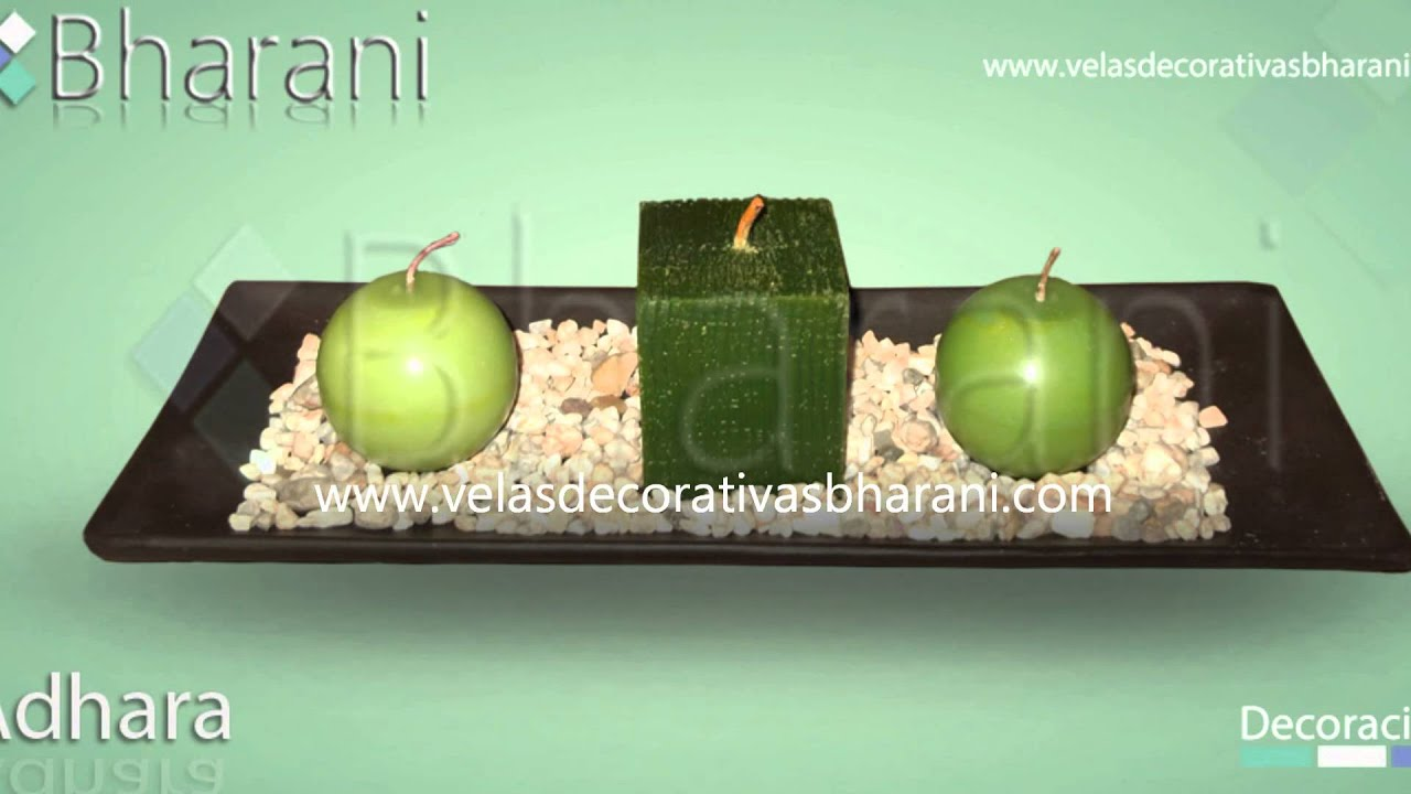Velas decorativas bharani centros de mesa decoracion con for Adornos decorativos para sala