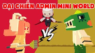 MINI GAME : CUỘC CHIẾN ADMIN MINI WORLD ** CHIẾC CHỔI VIP CỦA CHỊ THỎ