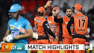 Super Scorchers cool the Heat with dominant display   KFC BBL 10