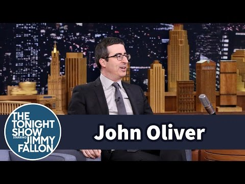 Thumbnail: John Oliver Explains How He Pulled Off an Edward Snowden Interview