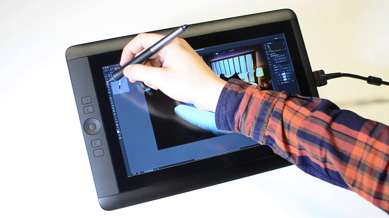 wacom cintiq 13hd review youtube