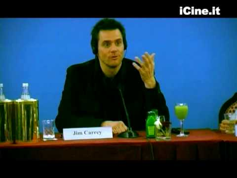 YES MAN - Jim Carrey Zooey Deschanel Peyton Reed PRESS CONFERENCE STAMPA 4 Roma PREMIERE