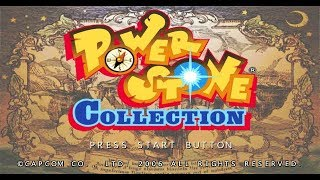 Power Stone Collection PSP Playthrough - All Characters + Story Playthrough Power Stone 2
