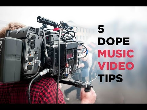5 Dope Music Video Tips w/ Director Andrew Sandler