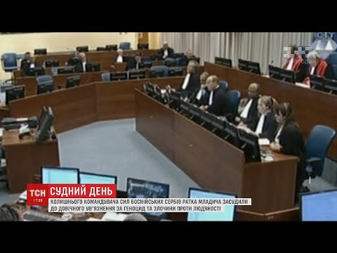 Суд ООН в Гаазі виніс вирок колишньому командувачу силами боснійських сербів