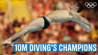 Men's 10M Diving 🥇 Last 5 Champions!