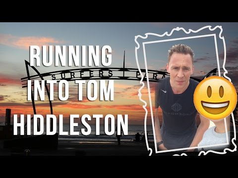 Running into Tom Hiddleston at the Beach!