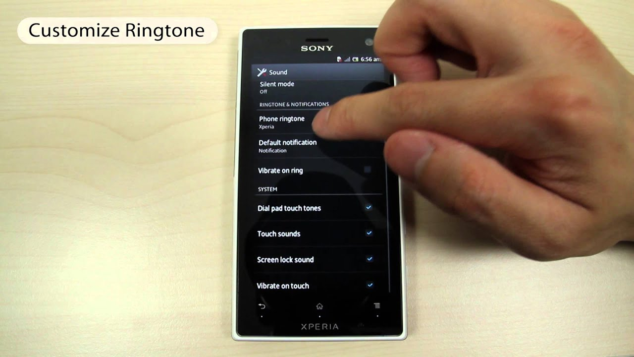 How to set a custom ringtone on your Sony Xperia L1 - Phone-Info