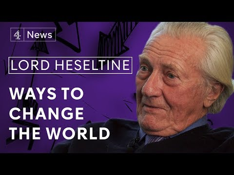 Lord Michael Heseltine on Brexit, Theresa May and fighting poverty