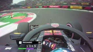 Daniel Ricciardo's Pole Lap | 2018 Mexican Grand Prix