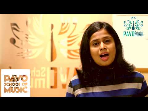 Western Voice Classes with Anjana Rajagopalan at PAVO school of music Thiruvanmiyur