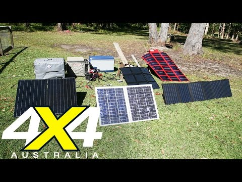 Solar panel comparison   Gear   4X4 Australia