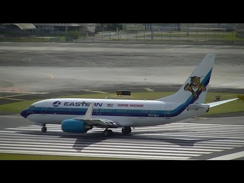TJSJ Spotting: Eastern Airlines B737 & New Camera!