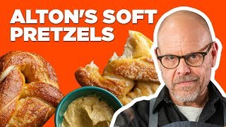 Alton Brown Makes Soft Pretzels   Food Network