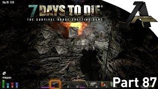 7 Days To Die Alpha 12.5 Gameplay - Part  87 - Bunker Building W/tnt