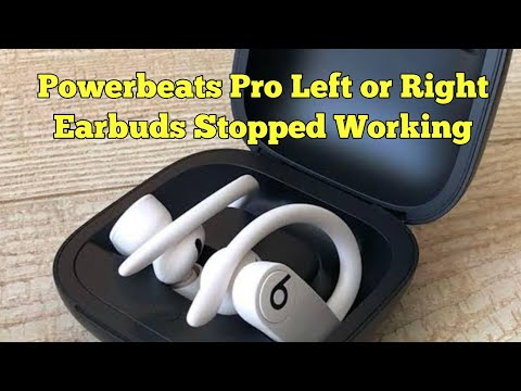 Powerbeats Pro Left Or Right Earbud Stopped Working Or Not Charging Here S The Fix Youtube