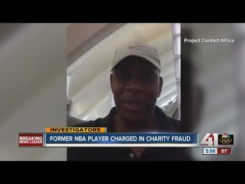 Former NBA player charged in charity fraud