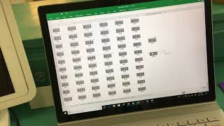 How to choose sku numbers, generate barcodes, print and use the scanner with square pos system for small soap retail shop