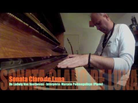 Sonata Claro de Luna por Marcelo Podmoguilnye