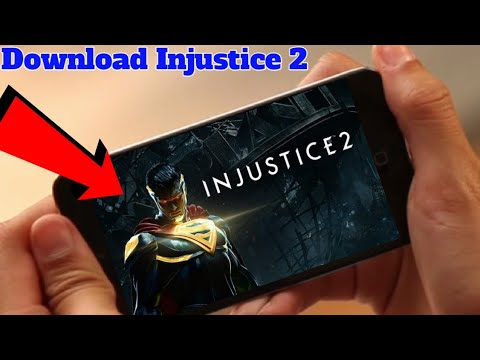 Injustice 2 On Android Ll Download Play Full Gameplay
