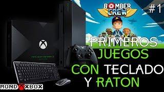 Teclado y Ratón en Xbox One, sus primeros juegos #1 Bomber Crew |MondoXbox