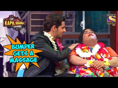 Siddharth Gives A Massage To Bumper  – The Kapil Sharma Show
