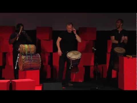 Entertainment: Drum Café at TEDxCibeles