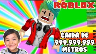 Saltos Imposibles en Roblox | 999,999,999 Feet Fall | Survival Roblox Games