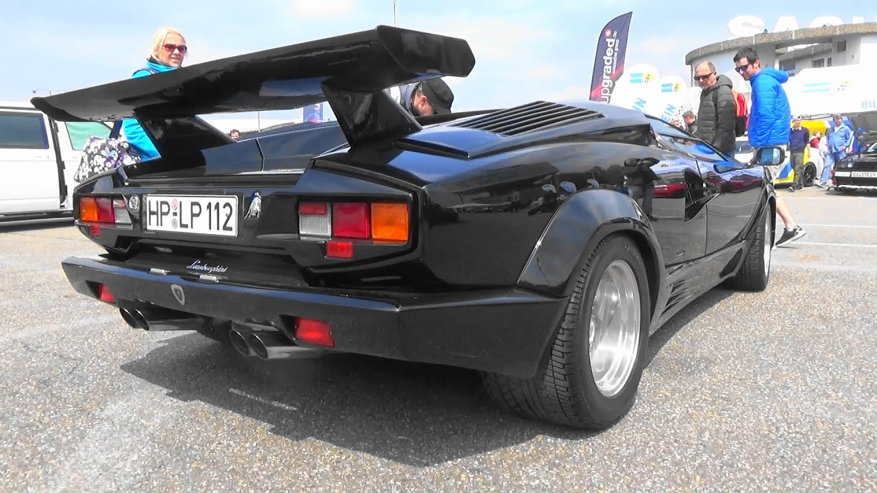 Lamborghini Countach Lp500s Tuner Grand Prix 2016 Youtube