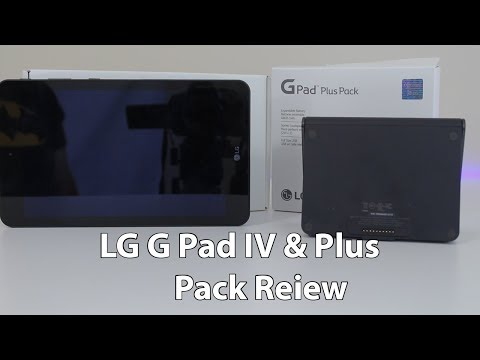 LG G Pad IV And Plus Pack Review - From Someone Who Doesn't Really Use Tablets