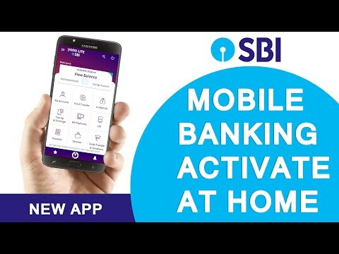 First Time Registation On New SBI Anywere App Personal From Home [ Hindi ]