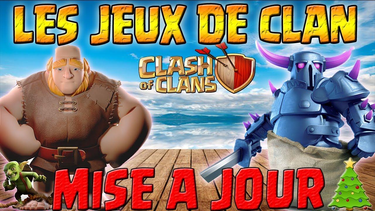 mise a jour noel 2018 clash of clans LES JEUX DE CLAN   MISE A JOUR VILLAGE PRINCIPAL   Clash of clans  mise a jour noel 2018 clash of clans
