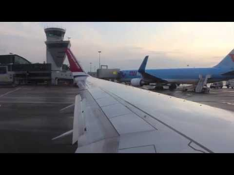 Norwegian Air Shuttle B738 Take Off From Helsinki Airport