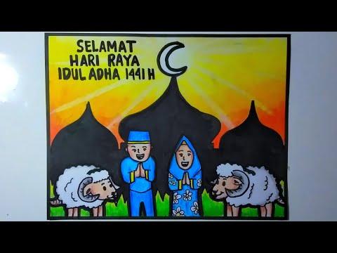 Gambar Poster Idul Adha Poster Ucapan Idul Adha Youtube