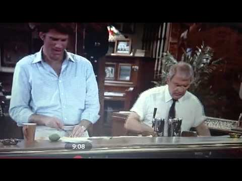 First Norm Greeting on Cheers, Ep 1 Season 1