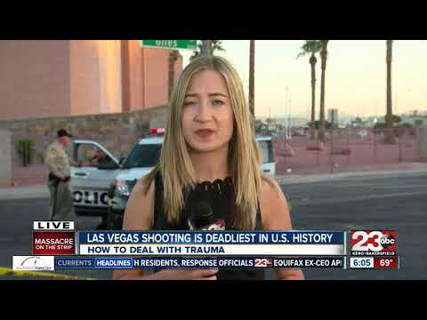 Clinical psychologist one of first responders in Las Vegas shooting, speaks out on emotional trauma