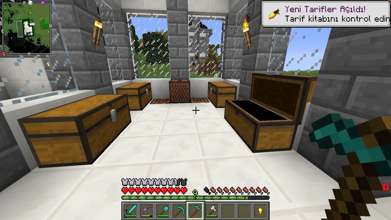 4. Sezon Minecraft Modlu Survival Bölüm 11 - YER ALTI TÜNELİ