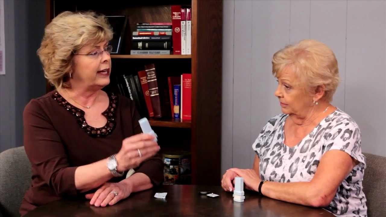 how to use an inhaler video