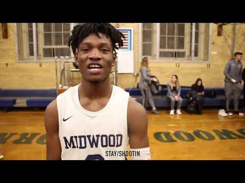 P.S.A.L A | THIERRY BLYDEN HITS 1000 CAREER POINTS | MIDWOOD HIGH SCHOOL DEFEATS PAUL ROBESON 72-55