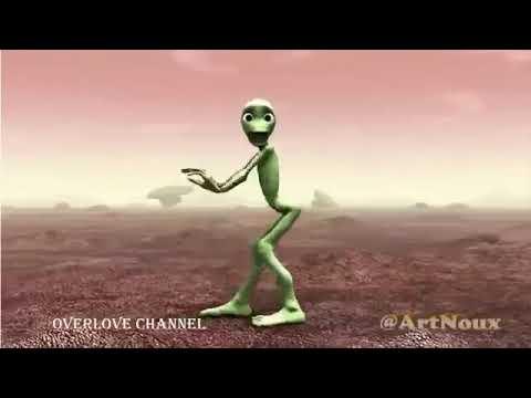 (Dame tu Cosita)The Green Alien Dance _ full
